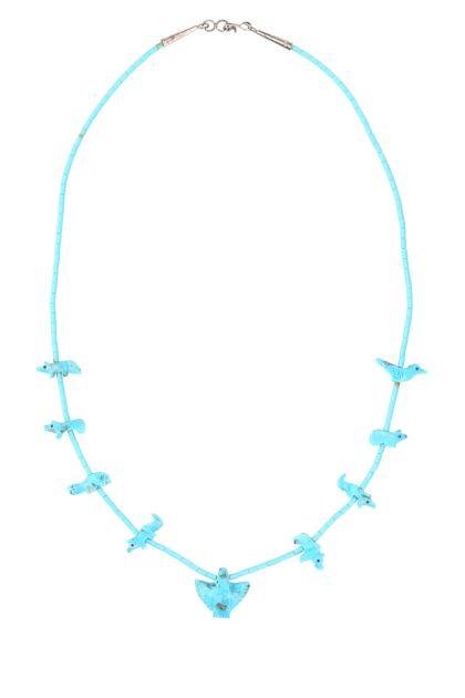 Light blue Power Animal necklace