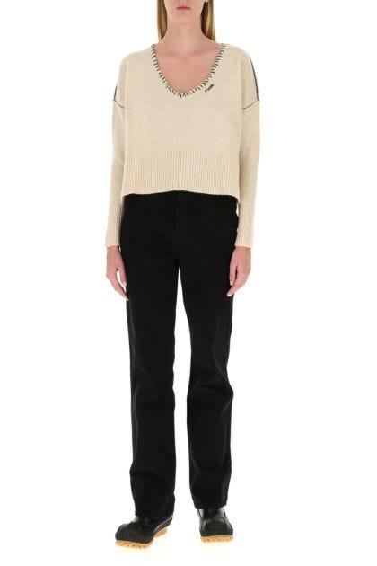 Sand wool sweater