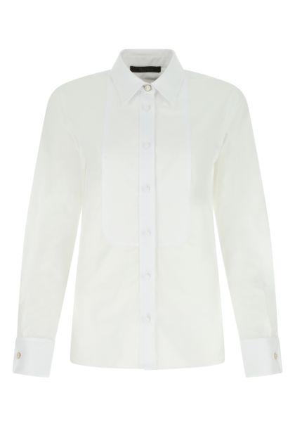 White poplin Osol shirt