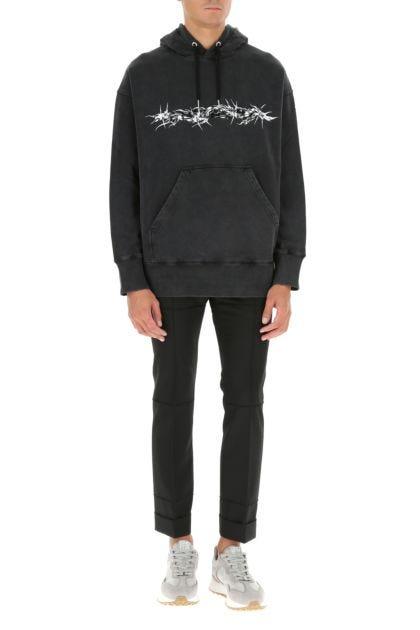 Charcoal cotton sweatshirt