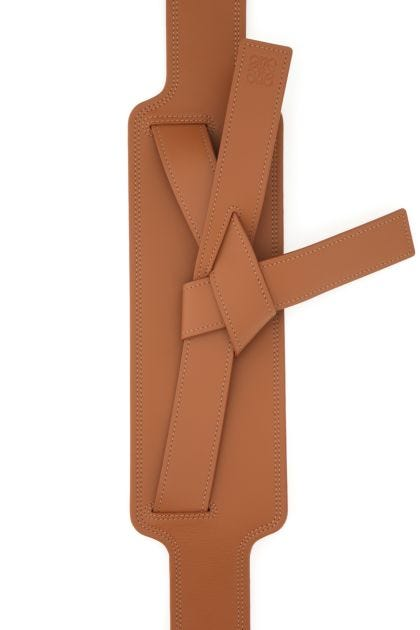 Brown leather Gate belt