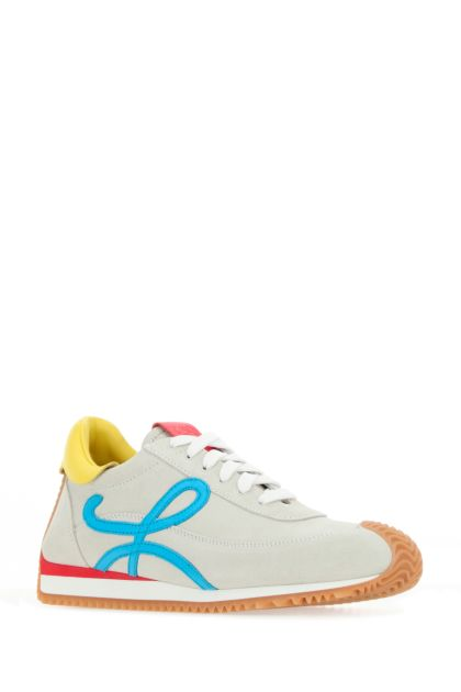 Multicolor suede Flow Runner sneakers