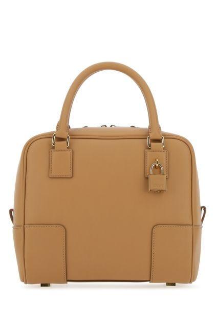 Beige nappa leather Amazona 19 handbag