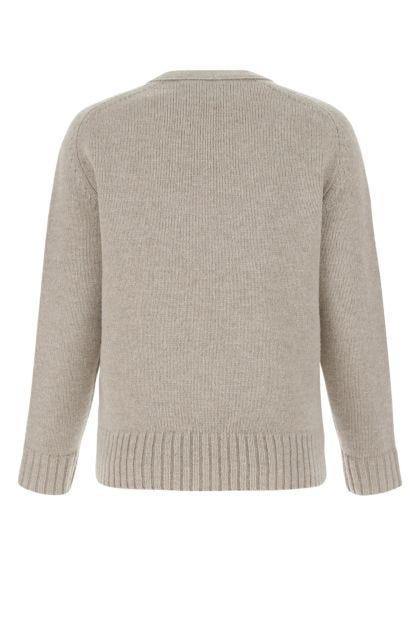 Sand wool cardigan