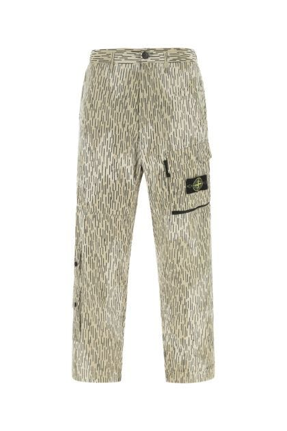 Printed nylon pant