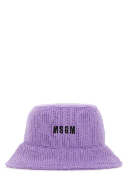 Lilac acrylic blend hat