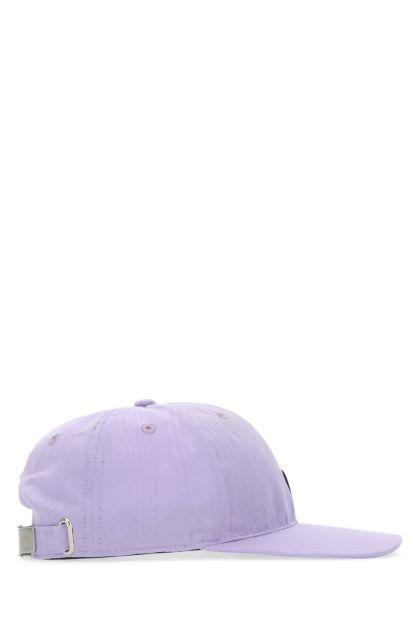 Lilac polyester baseball cap