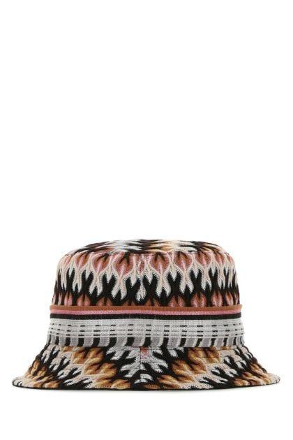 Multicolor viscose blend hat