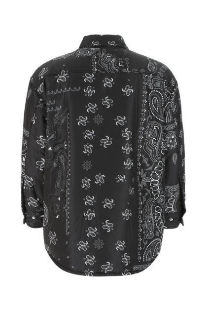 Printed polyester Bandana padded shirt