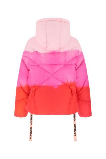 Multicolor nylon Iconic down jacket