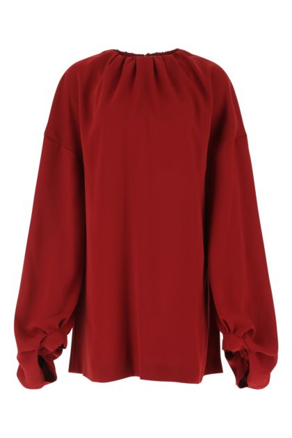 Tiziano red polyester dress