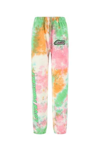 Multicolor cotton joggers