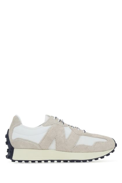 Multicolor suede and fabric 327 sneakers