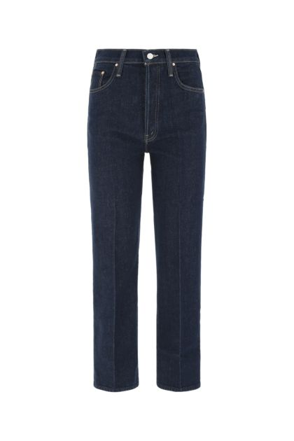 Blue stretch denim The Rambled Ankle jeans