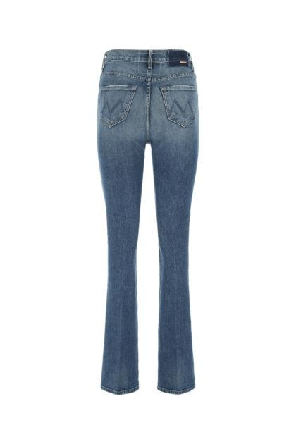 Stretch denim The High Waisted Smoking' Double Heel jeans