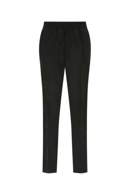 Black light wool pant