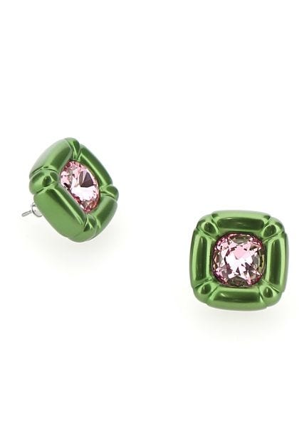 Green Dulcis Stud earrings