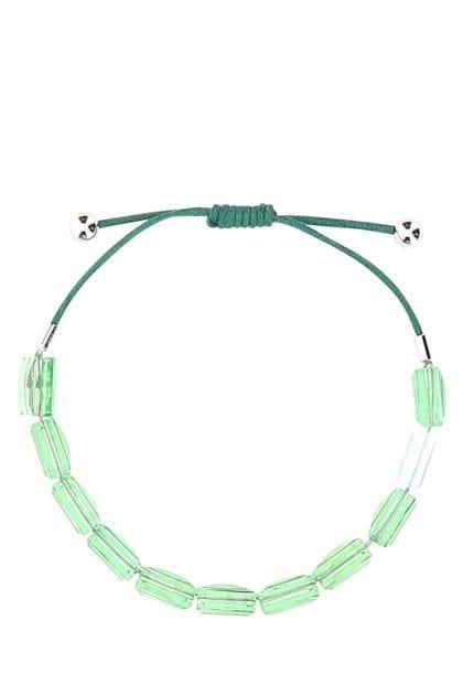 Green Letra bracelet
