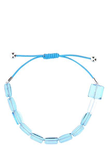 Light blue Letra bracelet