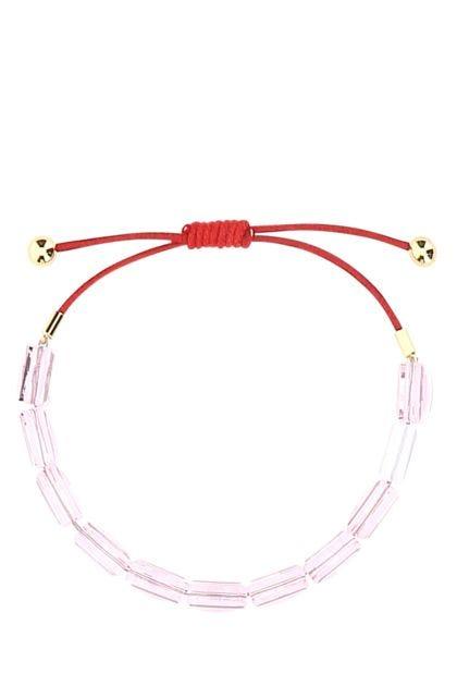 Two-tone Letra bracelet