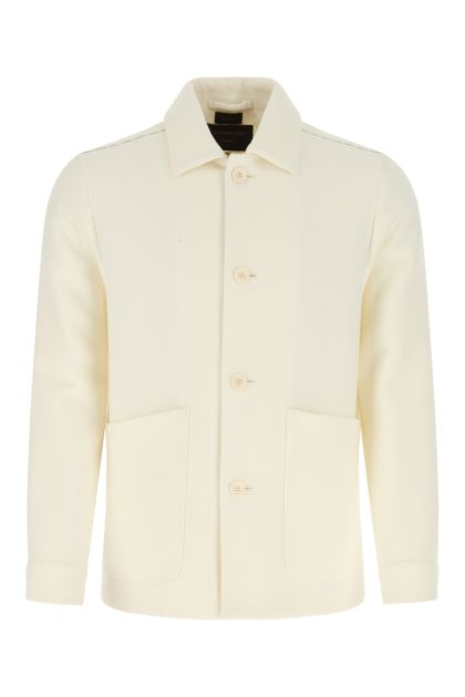 Ivory wool blazer