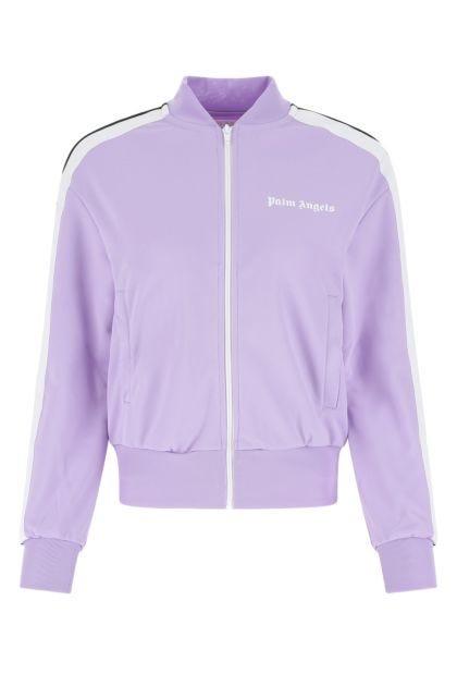 Lilac polyester sweatshirt