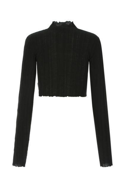 Black acrylic blend top