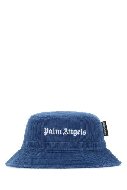 Blue corduroy hat