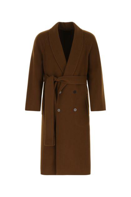 Brown wool blend Ferro coat