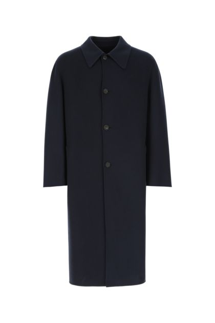 Navy blue cashmere blend Rafael coat