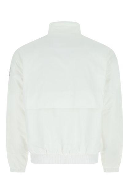 White polyester wind breaker