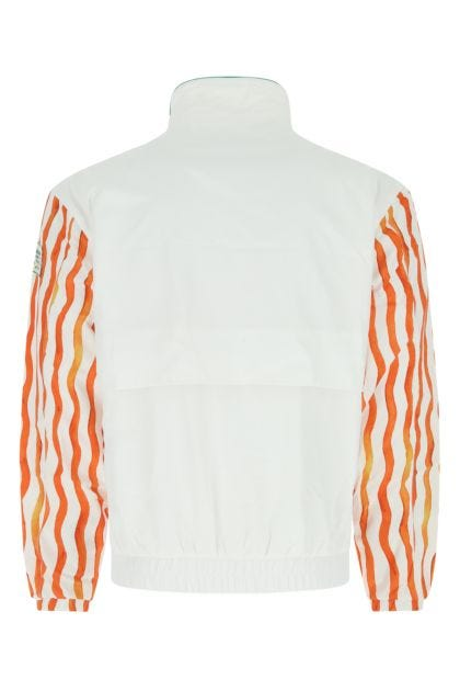 Printed polyester sweatshirt