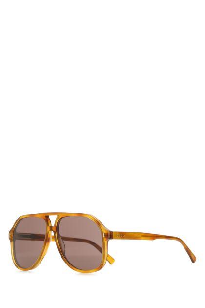 Multicolor acetate Navigator sunglasses