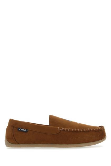Biscuit synthetic leather Declan loafers