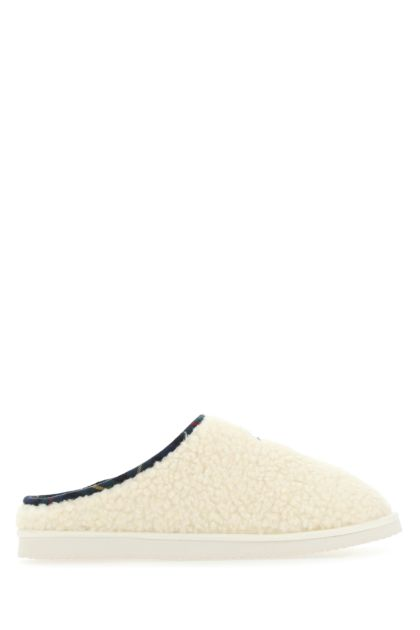 Ivory eco shearling Charlotte slippers