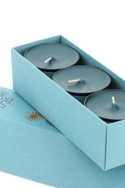 Purple Hill tea light scented candles set