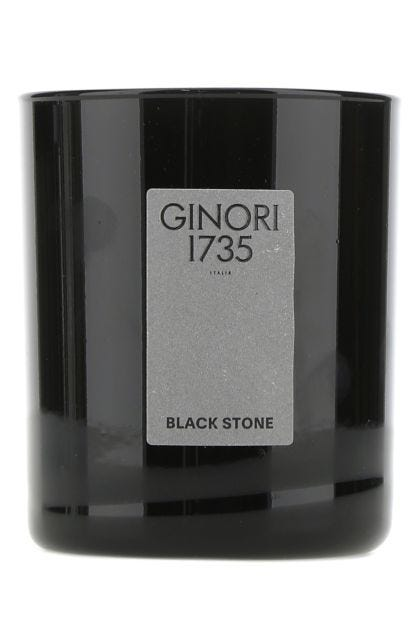 Black Stone scented candle