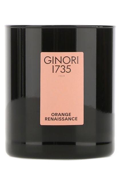 Orange Renaissance scented candle