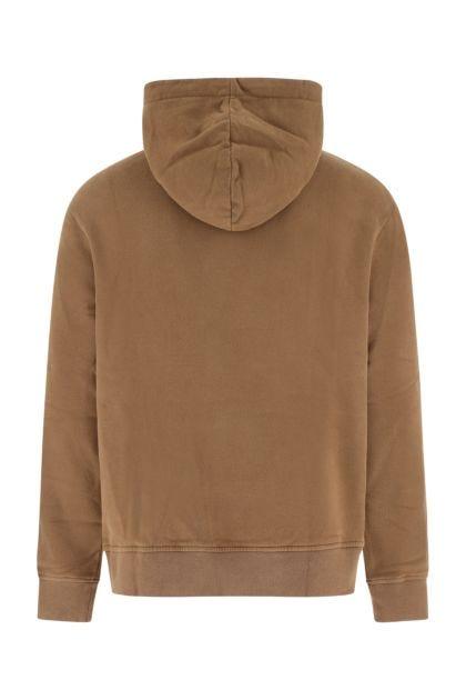 Brown cotton sweatshirt
