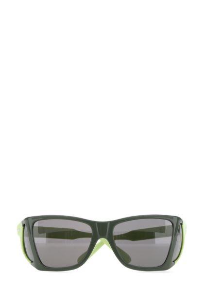 Two-tone acetate 4 Lenses sunglasses