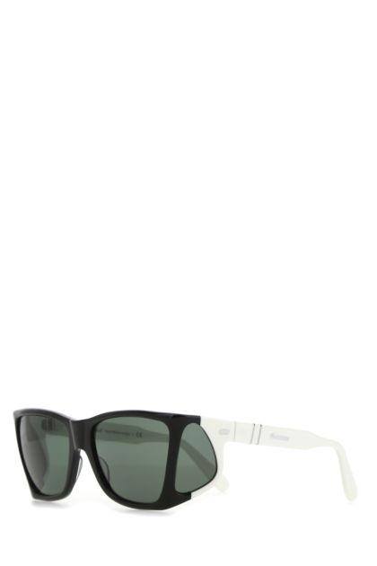 Multicolor acetate 4 Lenses sunglasses