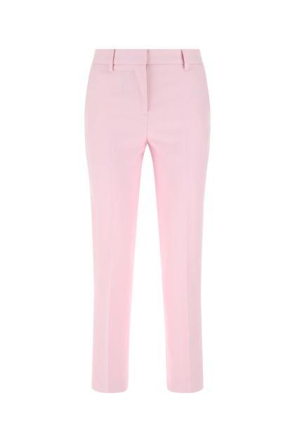Pastel pink wool pant