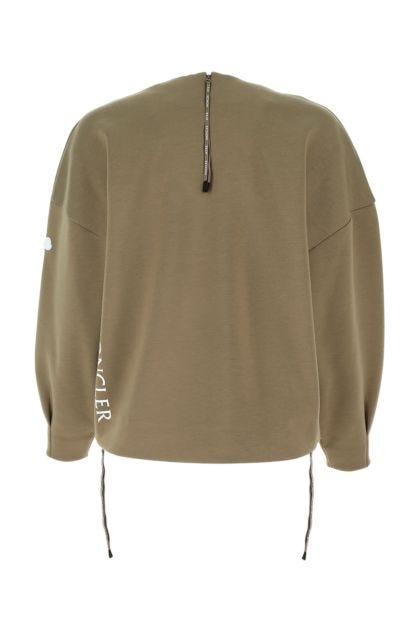 Khaki 4 Moncler Hyke sweatshirt